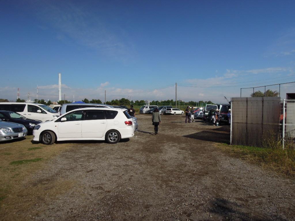 夢の島東少年野球場駐車場